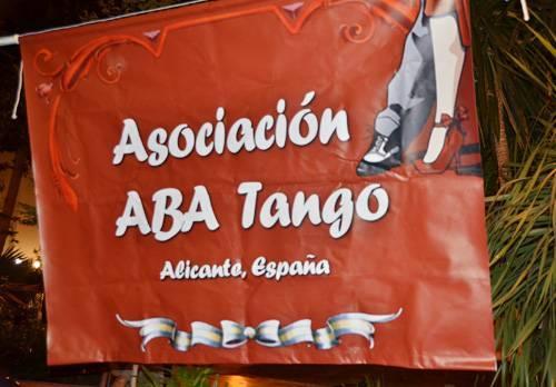 Impresión digital de lonas Asociación Aba Tango