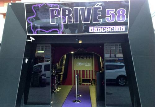 Impresión vinilos decoración discoteca en Bernidorm