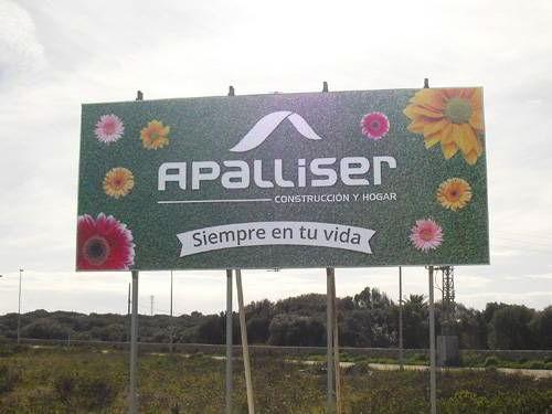 Imprimir vinilos para vallas publicitarias Apalliser