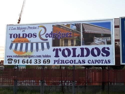 Impresión gran formato de vallas publicitarias Rótulos Rodriguez