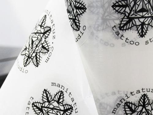 Pegatinas transparentes Manni tattoo