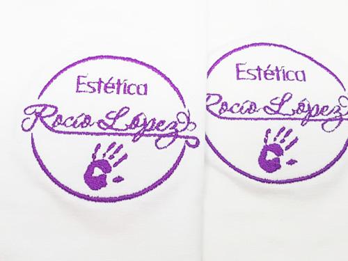 Bordado camisetas Rocío López